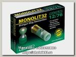 Патрон 12х76 DDupleks пуля Monolit 32г
