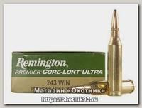 Патрон 243Win Remington 6,5 Core-Lokt Ultra Bonded PSP
