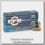 Патрон 9х19 PPU Luger JHP 9,5г