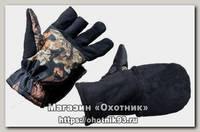 Перчатки Хольстер охотника-рыбака черный