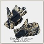 Перчатки Хольстер охотника-рыбака темный лес