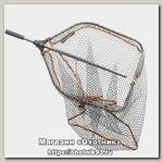 Подсачек Savage Gear Pro tele folding rubber large mesh 65х50см