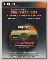 Поводковый материал Ace Re-Action 20lb 20м черный