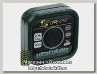 Поводковый материал Carp Spirit herculine braid 20м 20lb 9,1кг зеленый