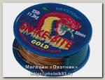 Поводочный материал Kryston Snake-bite gold camo coated 25lbs