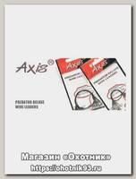 Поводок Axis метал, duolock 18см 5шт