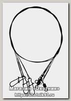 Поводок Savage Gear Swivel needle snap 3pc 50см 0.85мм 20кг
