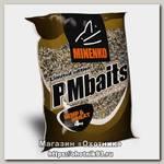 Прикормка MINENKO PMbaits big pack ready to use crushed hemp& wheat natural