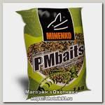 Прикормка MINENKO PMbaits ready to use hemp$wheat natural конопля+пшеница 1кг