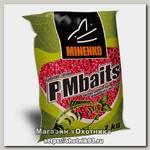 Прикормка MINENKO PMbaits ready to use red strawberry wheat 1кг