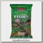 Прикормка Sensas 3000 1кг super feeder lake 1кг