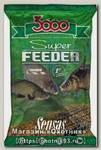 Прикормка Sensas 3000 1кг super feeder river 1кг