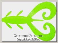 Приманка Reins G tail twin 2'' цв. 129 glow chart silver уп 10шт