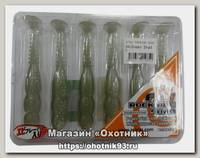 Приманка Reins виброхвост Fat rockvibe shad 4 B33 green shad