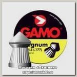 Пульки Gamo Magnum 4,5мм 0.49г 250шт