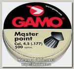 Пульки Gamo Master Point 4,5мм 0.49гр 500шт