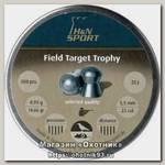 Пульки H&N Field Target Trophy 500шт 5,53мм