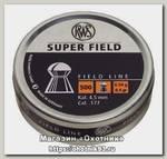 Пульки RWS Supe rfield 4.5мм 0.54 гр 500 шт