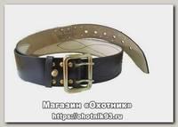 Ремень Хольстер поясной 50 с дополнительной фиксацией стальн пряжка №3