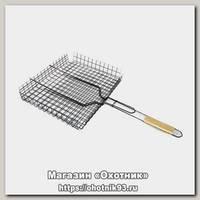 Решетка Хозлидер для барбекю большая 435х285х18мм