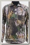 Рубашка ХСН длинный рукав лес