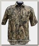 Рубашка ХСН Фазан короткий рукав лес