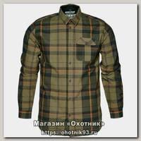 Рубашка Seeland Conroy duffel green check р.L