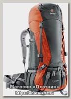 Рюкзак Deuter Aircontact 55+10л granite/papaya