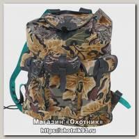 Рюкзак ХСН Лес с кожаной отделкой