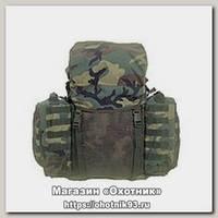 Рюкзак-носилки Mil-tec походные woodland