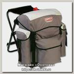 Рюкзак Rapala Sportmans 30 chair pack со стулом серый
