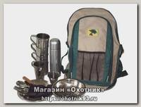 Рюкзак-сумка Пикник по-Русски на 4 персоны с термосом