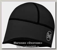 Шапка Buff Windproof tech fleece hat buff solid black