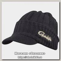 Шапка Gamakatsu Knit whith brim black
