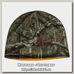 Шапка Harkila Moose hunter reversible mossy Oak break-Up country orange blaze