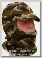Шлем-маска ХСН Лыжная с козырьком кмф