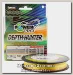Шнур Power Pro 100м 0,13мм multicolor