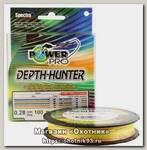 Шнур Power Pro 100м 0,28мм multicolor