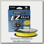 Шнур Spiderwire EZ Braid yellow 100м 0,25мм