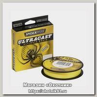 Шнур Spiderwire fluorobraid yellow 110м 0,15мм