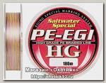 Шнур Sunline PE-EGI HG 180м 1,2/0,18мм 25lbs 8,8кг