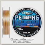 Шнур Sunline PE Jigger HG light 200м 0,8 12lbs