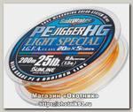 Шнур Sunline PE Jigger HG light 200м 10LB 0.6