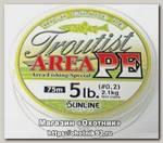 Шнур Sunline Troutist area PE 75м 0,3 6lbs