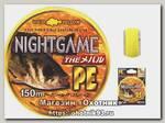 Шнур Unitika Nightgame the mebaru PE 150м 0,104мм 2кг