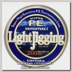 Шнур Unitika Univenture light jigging PE 200м 0,21мм 9кг