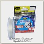 Шнур Yo-Zuri PE Hardcore X4 Duel 0.8/0.153мм 6.4кг 150м white