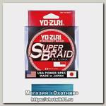 Шнур Yo-Zuri PE Superbraid Blue 300yds 15lbs 0,19мм