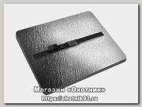 Сиденье Isolon Decor металлик туристическое с карабином 18мм серое