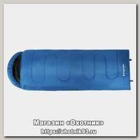 Спальник King Camp Oasis 250 3D Hollowfibre blue левый